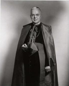 Most Reverend James Johnston Navagh Seventh Bishop of Ogdensburg (1957-1963)
